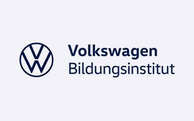 logo volkswagen bildungsinstitut